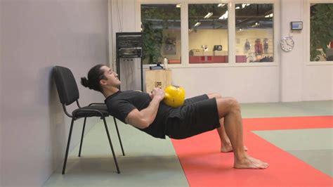 hip kettlebell thrust