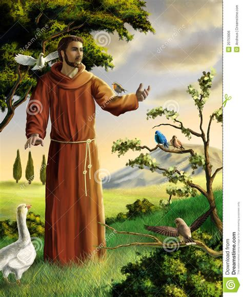 st francis of assisi birthday francis royalty free stock image image 20753906