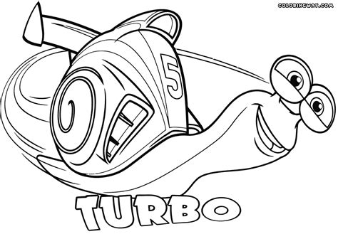 turbo coloring pages coloring pages to and print