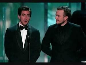 Jake Gyllenhaal & Heath Ledger ~ Cowboys - YouTube