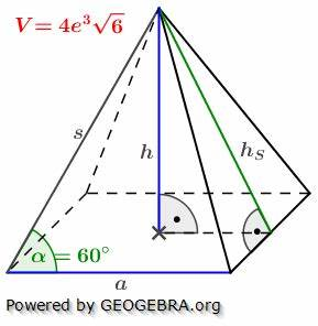 Quadratische Pyramide A Berechnen : quadratische pyramiden realschulabschluss bungsaufgaben ~ Themetempest.com Abrechnung