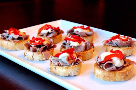beef canapes recipes beef canapes ideas