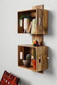 étagère En Palette : tag re en palette de bois une bouff e d inspiration ~ Dallasstarsshop.com Idées de Décoration