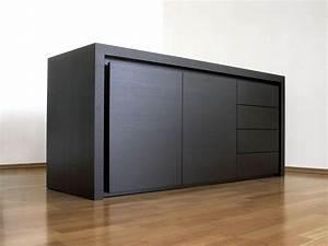 Sideboard Schwarz Holz : sideboard taris dimodis ~ Whattoseeinmadrid.com Haus und Dekorationen