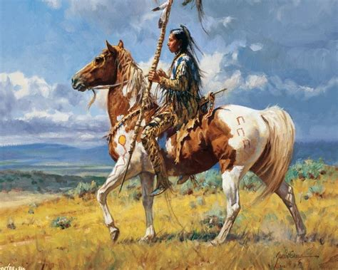paint horse native american names riding indian western warrior painting indians paintings warriors americans choosing looks perfect famous artists horseman