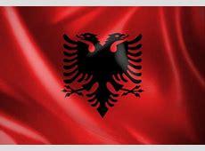 Vlag Albanië Vlagonlinenl