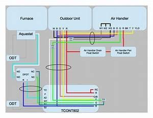20 Inspirational Trane Heat Pump Wiring Schematic