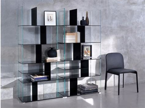 designs   glass bookcases fashionable
