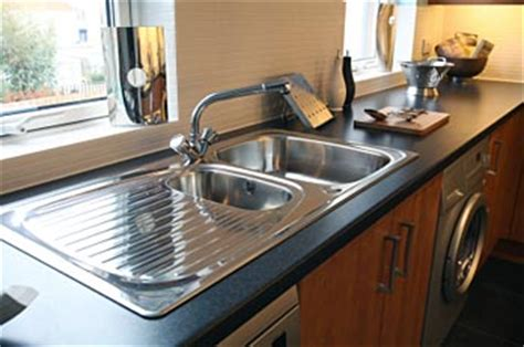 replacing undermount kitchen sink replace a drop in with an undermount sink the home 4768