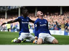 Everton player ratings in 10 victory over Stoke City