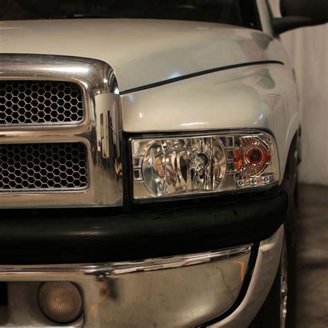 1994 2001 Dodge Ram 1500 2500 3500 LED Chrome Headlights w
