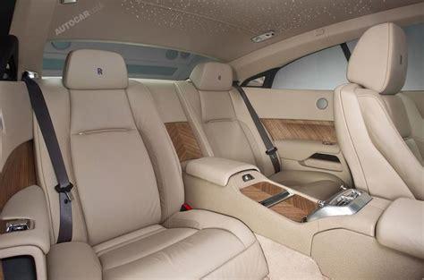 2014 Rolls-royce Wraith Leak Interior Rear