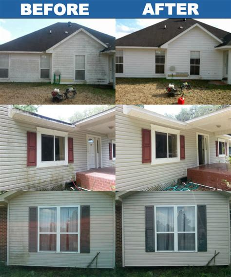 how to pressure wash a house to clean siding vinyl wood