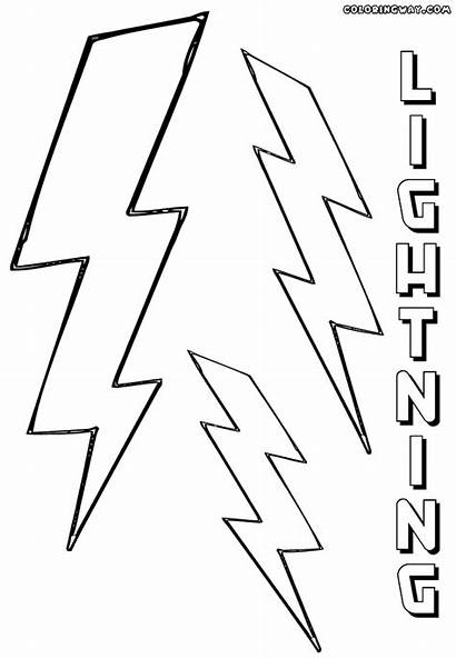 Lightning Coloring Pages Sheet Colorings