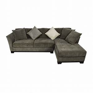Best of gray sectional sofa chaise sectional sofas for Gray microfiber sectional sofa with chaise