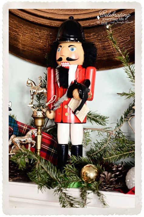 christmas mantel decorations celebrating everyday