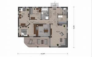 Kleine Holzhäuser Grundrisse : bungalow kleinfamilie schwesig s hne gmbh ~ Bigdaddyawards.com Haus und Dekorationen