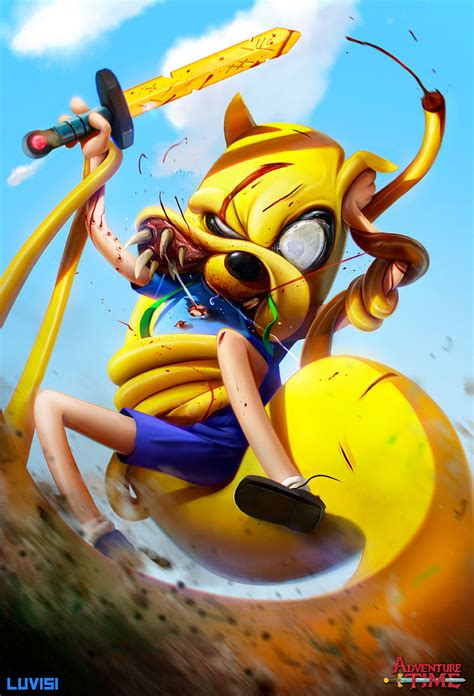 childhood cartoon characters turned  crazy killers