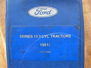 Ford Tractor 2610 3610 4110 4610 Parts Manual