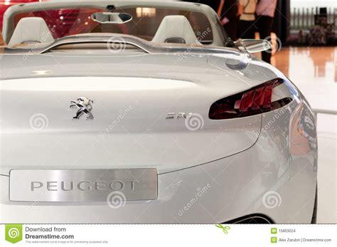 Peugeot Sr1 Concept Car Editorial Stock Image Image