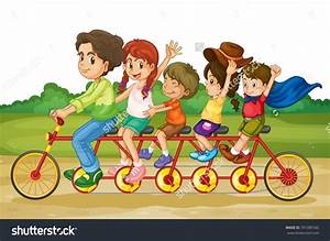 Family at The Park Clipart (68+)