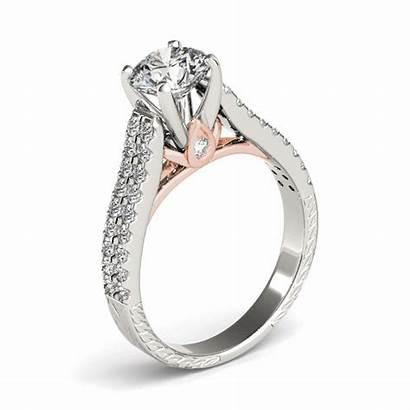Diamond Gold Ring Engagement 18kt Ctw Rings