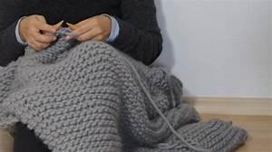 Tricoter Un Plaid En Grosse Laine : comment tricoter un plaid en laine i love tricot ~ Melissatoandfro.com Idées de Décoration