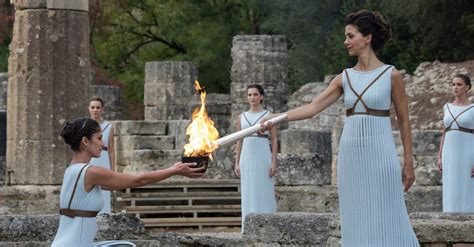 tokyo  olympic torch lighting ceremony    streamed  march