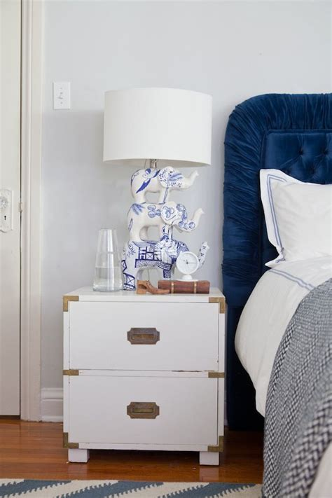 bedroom  night stand styling  room