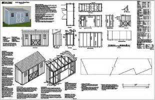 get 8x8 lean to shed plans shed nov