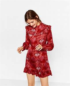 what to wear to an office party the booklet With zara robe rouge