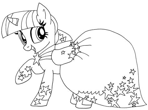 Twilight Sparkle Coloring Pages To And Print For Free My Pony Coloring Pages Twilight Sparkle Alicorn
