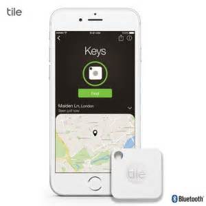 Tile Gps Tracker Battery by Tile Mate Bluetooth Tracker Device White