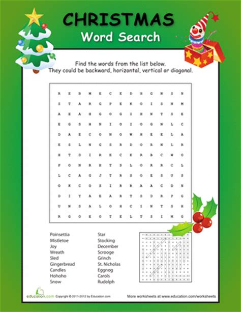 christmas fun word search fun words christmas fun and