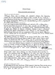 Sample Profile Essays College