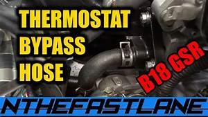 Thermostat Bypass Hose Honda