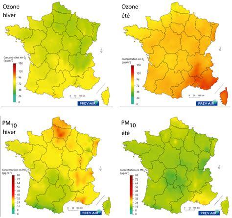 Carte Pollution Europe by Courir Et Pollution De L Air Les Conditions M 233 T 233 Os Et