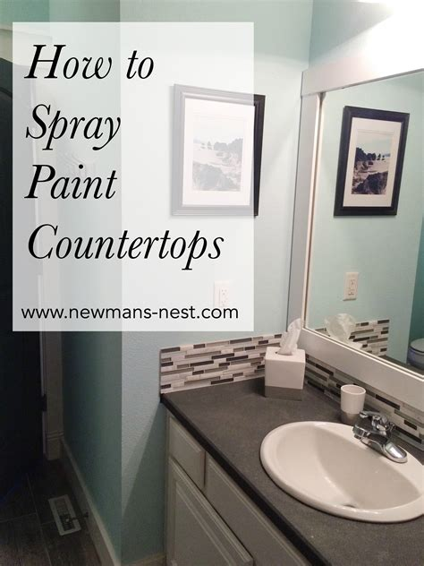 Spray Paint Laminate Countertops by Spray Painted Countertops Diy House Spray Paint