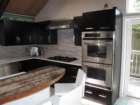 veneer kitchen cabinet refacing cabinet refacing with espresso stain on maple veneer 6758