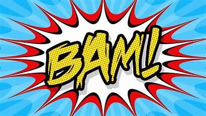 Pop Comic Bam Poster Create Tutorial Photoshop