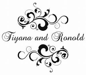 7 best images of printable wedding monogram templates With free wedding monogram
