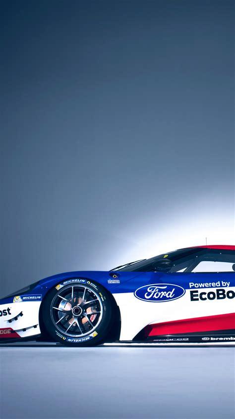wallpaper ford gt race car  hours  le mans cars