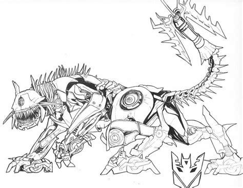transformers age  extinction coloring pages az