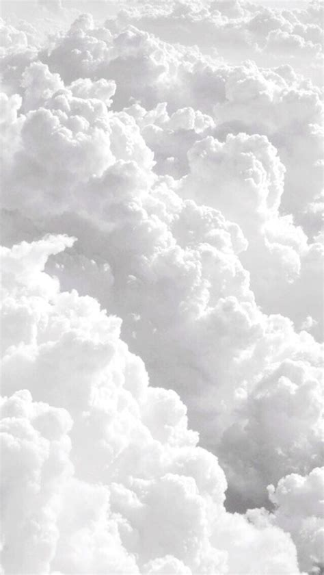 Cloudy Sky Background Hd Clouds Iphone Wallpaper Sky White Image 3109037 By Lady D On Favim Com