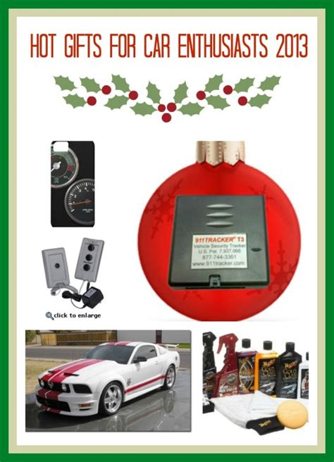 top gifts for car enthusiasts