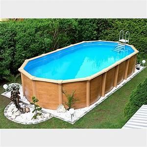 Pool Mit Holz : ovalpool ovalbecken stahlwandpool oval ~ Orissabook.com Haus und Dekorationen