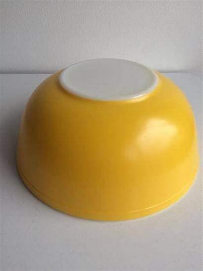 Mixing Yellow Pyrex Quart Bowls Bowl Glass