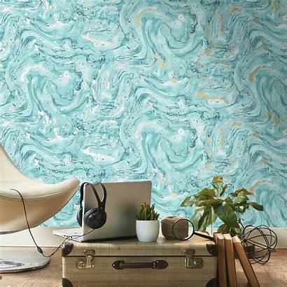 Marble Metallic Teal Luxury Holden Azurite Minerals