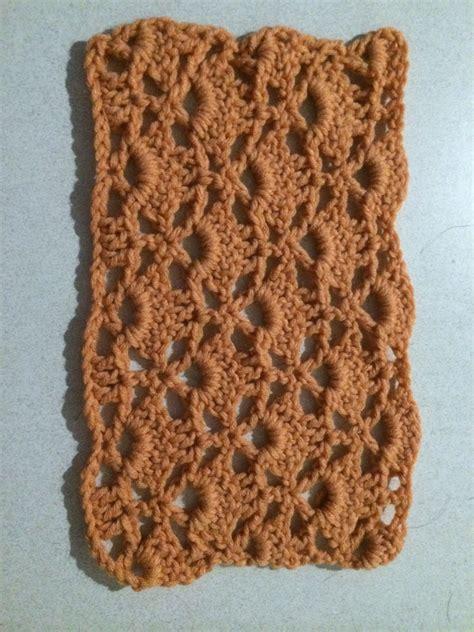 membaca chart crochet  pemula pola gratis rajutan