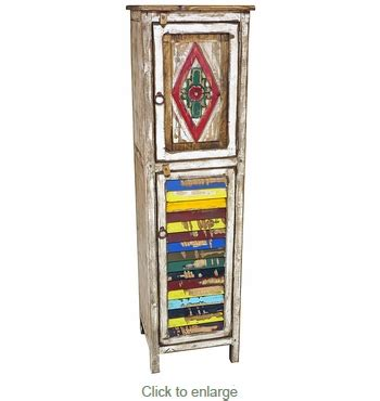 narrow kitchen cabinets narrow painted wood cabinet with carving multi color 1035